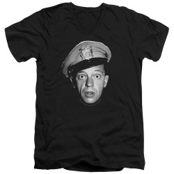 Image for Andy Griffith Show T-Shirt - V Neck - Barney Head
