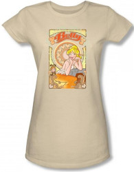 Image for Archie Comics Girls T-Shirt - Art Nouveau Bueaty
