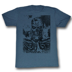 Image for Terminator T-Shirt - Black and Blue