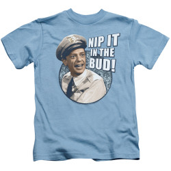 Image for Andy Griffith Show Kids T-Shirt - Nip It