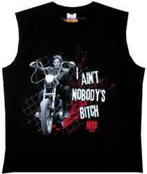 Image for The Walking Dead Sleevless T-Shirt - Darryl Ain't Nobodies...