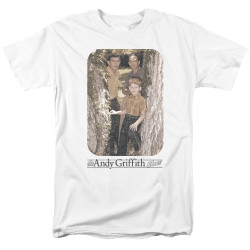 Image for Andy Griffith Show T-Shirt - Tree Photo
