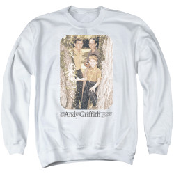 Image for Andy Griffith Show Crewneck - Tree Photo