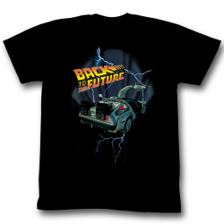 Image for Back to the Future T-Shirt - Lightning Car