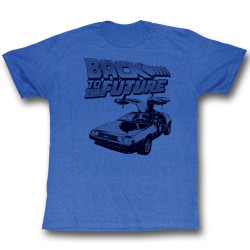 Image for Back to the Future T-Shirt - BTF Halftone