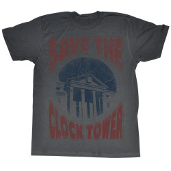 Image for Back to the Future T-Shirt - Save the Clock Tower