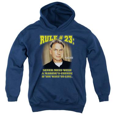 ef5a04a7 NCIS Youth T-Shirt - Rule 23 - NerdKungFu