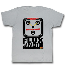 Image for Back to the Future T-Shirt - Flux Capacitor Shield Eyes from Light