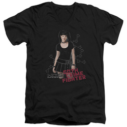 Image for NCIS T-Shirt - V Neck - Gothic Crime Fighter