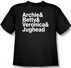 Image for Archie Comics Youth T-Shirt - The Band