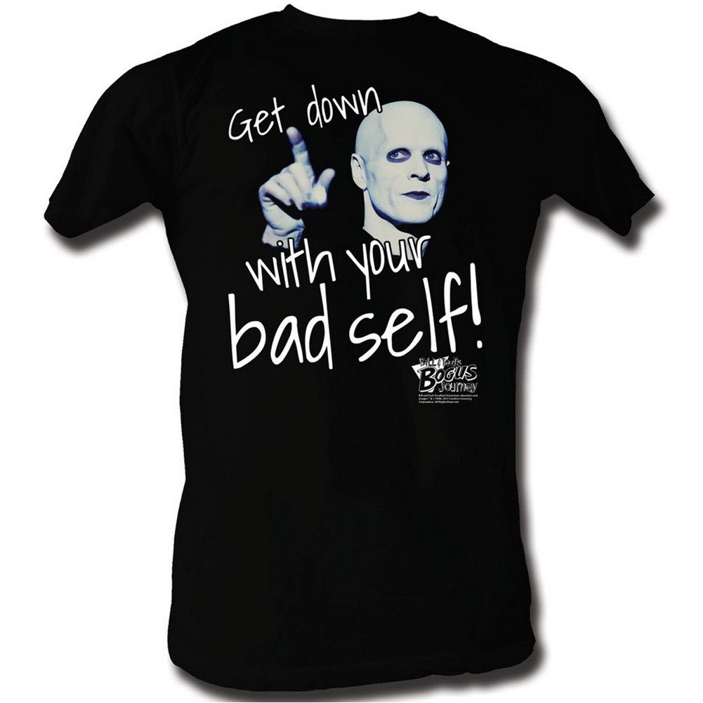 Bill & Ted's Bogus Adventure T-Shirt - Get Down With Your Bad Self