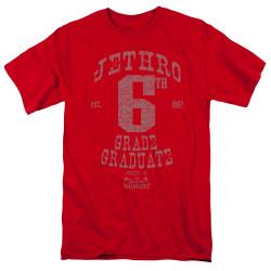 Image for The Beverly Hillbillies T-Shirt - Mr. 6th Grade Grad