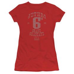Image for The Beverly Hillbillies Girls T-Shirt - Mr. 6th Grade Grad