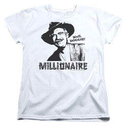 Image for The Beverly Hillbillies Woman's T-Shirt - Millionaire