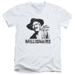 Image for The Beverly Hillbillies T-Shirt - V Neck - Millionaire