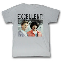 Image for Bill & Ted's Excellent Adventure T-Shirt - Excellent!