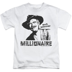 Image for The Beverly Hillbillies Kids T-Shirt - Millionaire