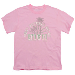 Image for Beverly Hills, 90210 Youth T-Shirt - Beverly Hills High