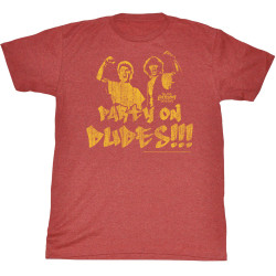 Image for Bill & Ted's Excellent Adventure T-Shirt - Party On Fade