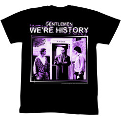 Image for Bill & Ted's Excellent Adventure T-Shirt - We're History