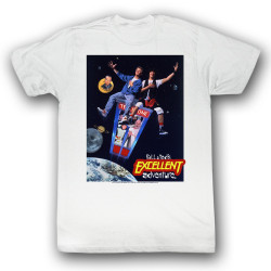 Image for Bill & Ted's Excellent Adventure T-Shirt - Poster