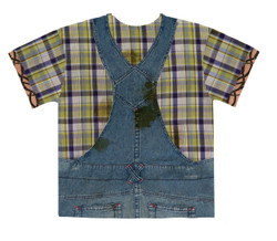 Image Closeup for Hillbilly Guy Costume Sublimated T-Shirt