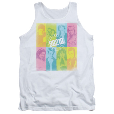 Image for Beverly Hills, 90210 Tank Top - Color Block of Friends