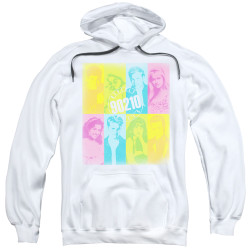 Image for Beverly Hills, 90210 Hoodie - Color Block of Friends