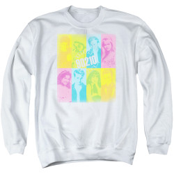 Image for Beverly Hills, 90210 Crewneck - Color Block of Friends