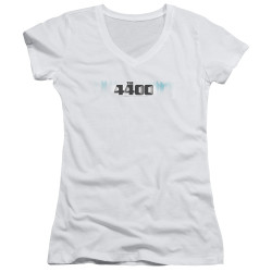 Image for The 4400 Girls V Neck T-Shirt - Logo