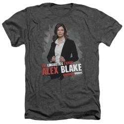 Image for Criminal Minds Heather T-Shirt - Alex Blake