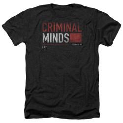Image for Criminal Minds Heather T-Shirt - Title Card
