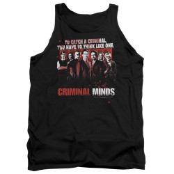 Image for Criminal Minds Tank Top - Think Like One