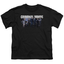 Image for Criminal Minds Youth T-Shirt - Season 10 Cast