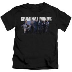 Image for Criminal Minds Kids T-Shirt - Season 10 Cast