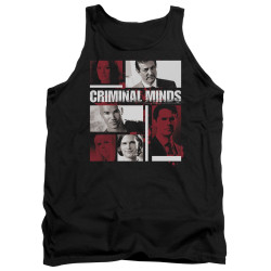 Image for Criminal Minds Tank Top - Character Boxes