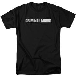 Image for Criminal Minds T-Shirt - Show Logo