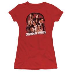 Image for Criminal Minds Girls T-Shirt - Brain Trust