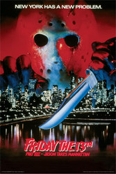 Image for Friday the 13th Part VIII Poster - Jason Takes Manhattan