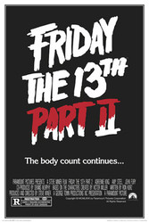 Image for Friday the 13th Part II Poster - The Body Count