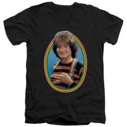 Image for Mork & Mindy T-Shirt - V Neck - Mork