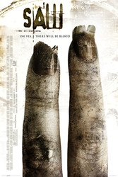 Image for Saw II Poster - 2 Finger Sheet