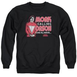 Image for Mork & Mindy Crewneck - Mork Calling Orson