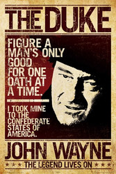Image for John Wayne Poster - Duke