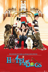 Image for Hotel for Dogs Poster - Cast