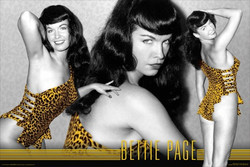Image for Bettie Page Poster - Leopard