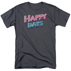 Image for Happy Days T-Shirt - Logo