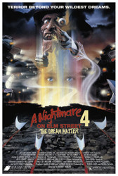 Image for Nightmare on Elm Street Part 4 Poster - Movie Sheet