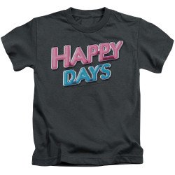 Image for Happy Days Kids T-Shirt - Logo