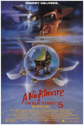 Image for Nightmare on Elm Street Part 5 Poster - Movie Sheet